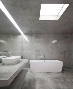 Badkamer betonlook mogelijkheden
