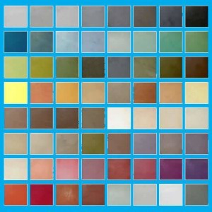 Kleuren beton ciré