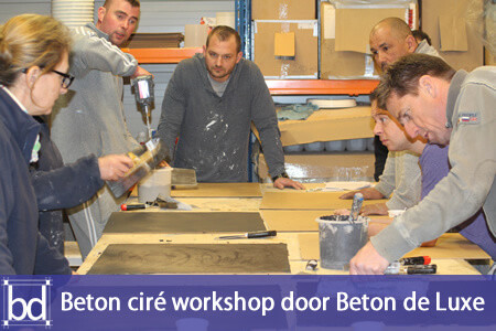 Beton cire workshop
