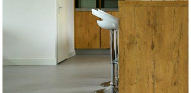Keuken van beton