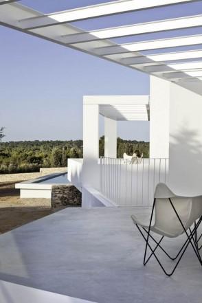 Betonlook veranda