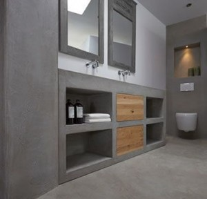 betonlook wc