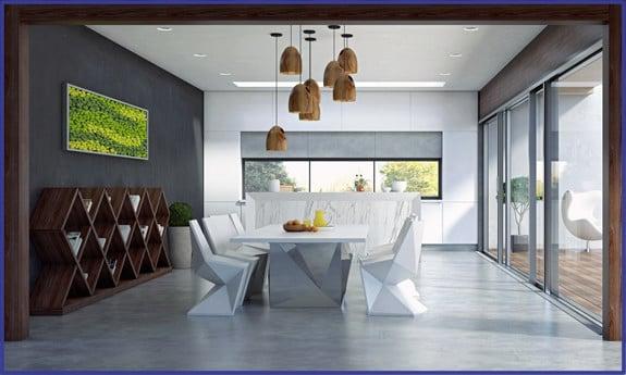 Beton de luxe betonlook vloeren muren meubels en terrassen for Betonstuc zelf aanbrengen
