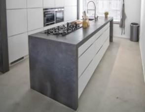 Beton keuken kleine gehoor geven aan uw huis