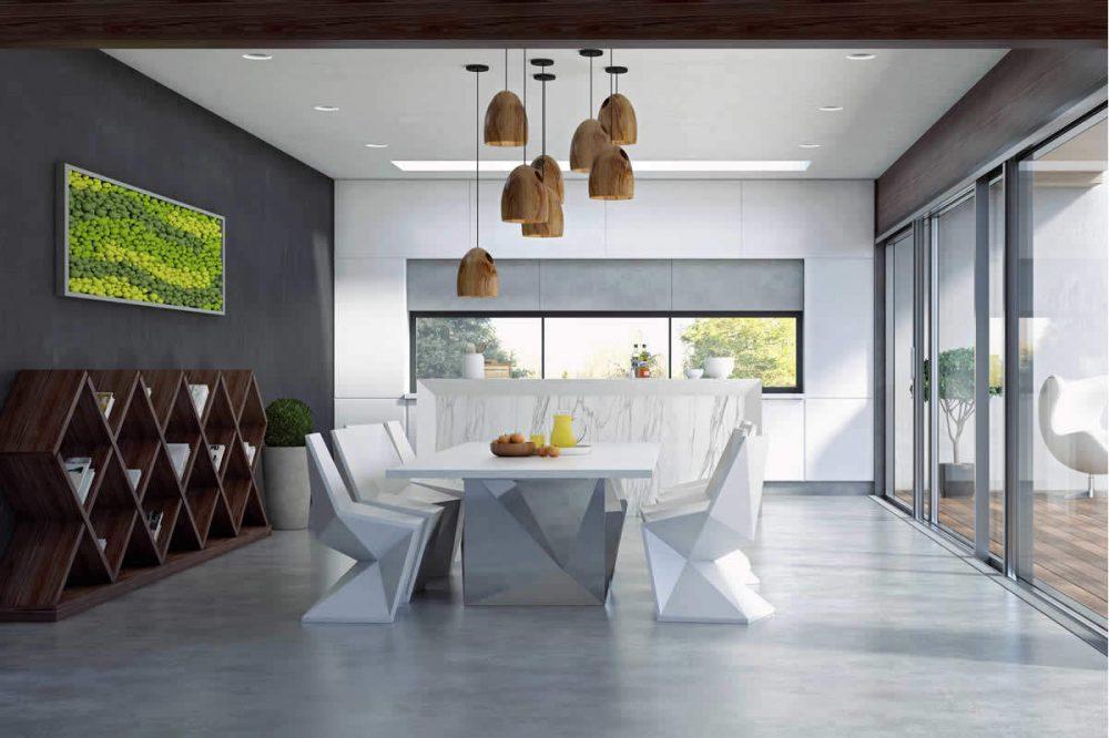 Betonlook vloer: voorbeelden eigenschappen en prijzen